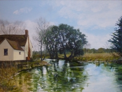 Flatford, Early Spring II Painting