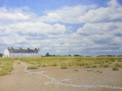 Shingle Street on the Solstice Painting