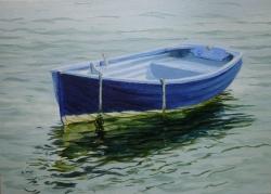 Blackwater Dinghy, flowing tide Painting