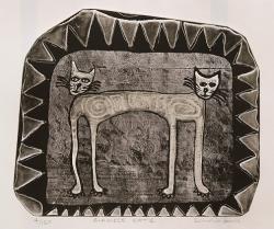 Siamese CAts Print