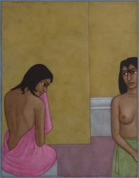 The Pink Towel Painting