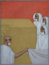 The Jain Monks Painting