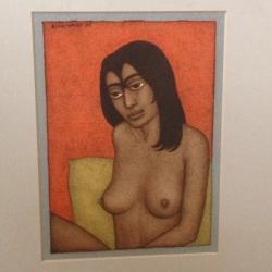 Woman II Painting