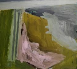 Corner on the Seawall Painting