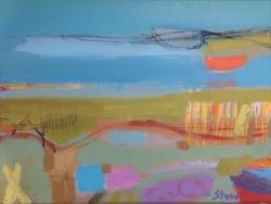 Towards Blue Yonder Painting