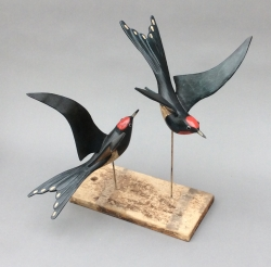 Two Swallows Sculpture