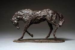 Horse Study, after Degas Sculpture