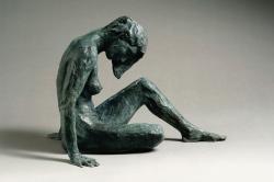 Sitting Figure Sculpture