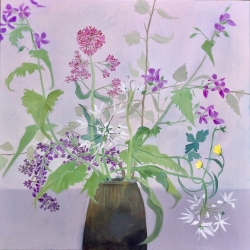 Wild Flowers from the Hedgerows Painting