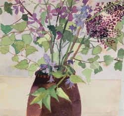 Flowers from the Hedgerow Painting
