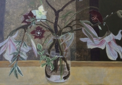 Spring Flowers in a Jar Painting