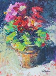 Patio Pot Painting
