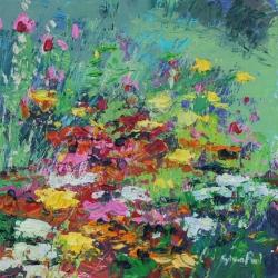 Joyful Garden Corner Painting