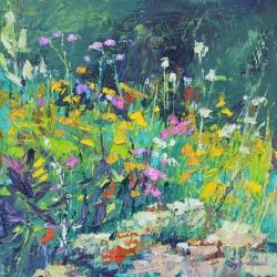 Little Garden Corner Painting