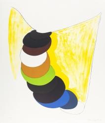 Yellow Curtain Print