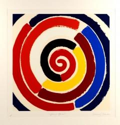 Spring Spiral Print