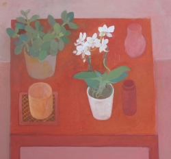 Red Table Painting