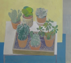 Cacti Painting by Wendy Jacob