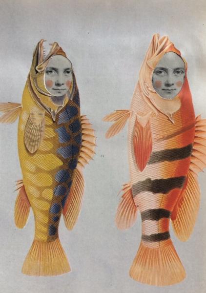 Fishy Sisters by Belinda Worsley (1963)