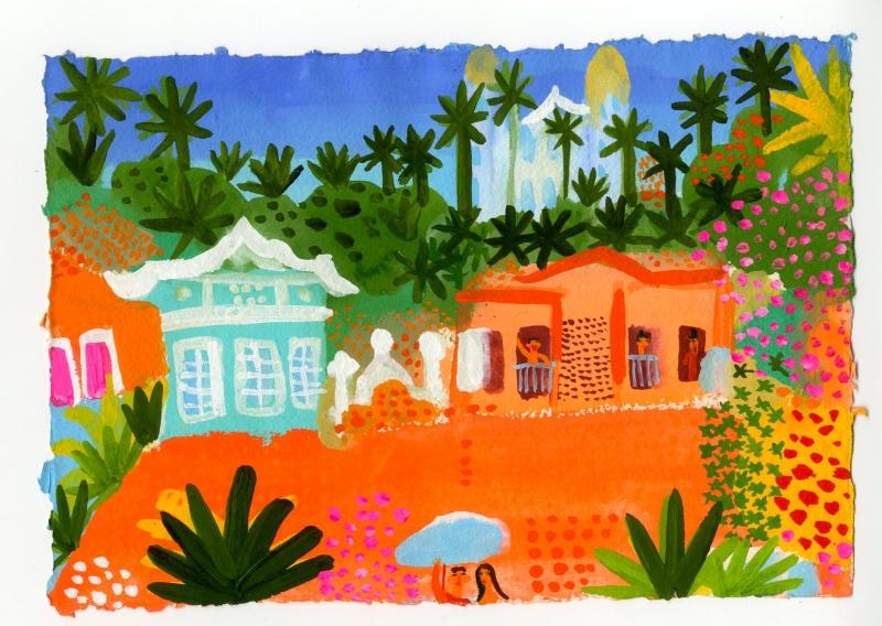 Olinda houses and gardens