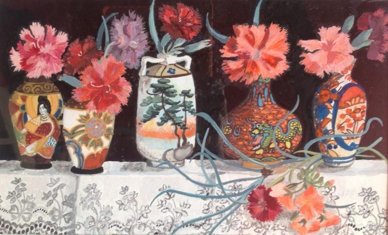 Five Little Vases