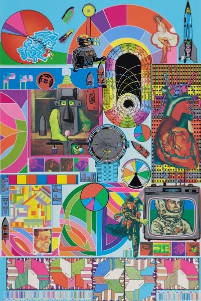 B.A.S.H. by Sir Eduardo Paolozzi KBE RA (1924 - 2005)