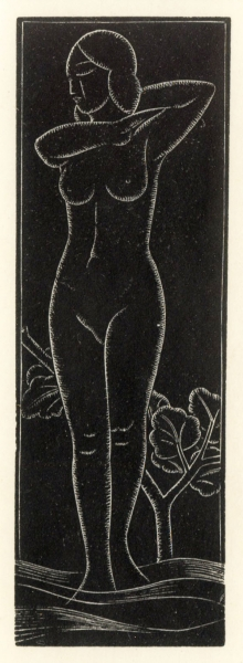 Venus by Eric Gill (1882 - 1940)
