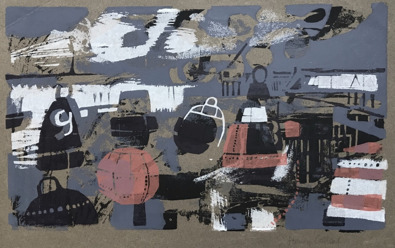 Harwich Buoys by Henry Collins (1910 - 1994)