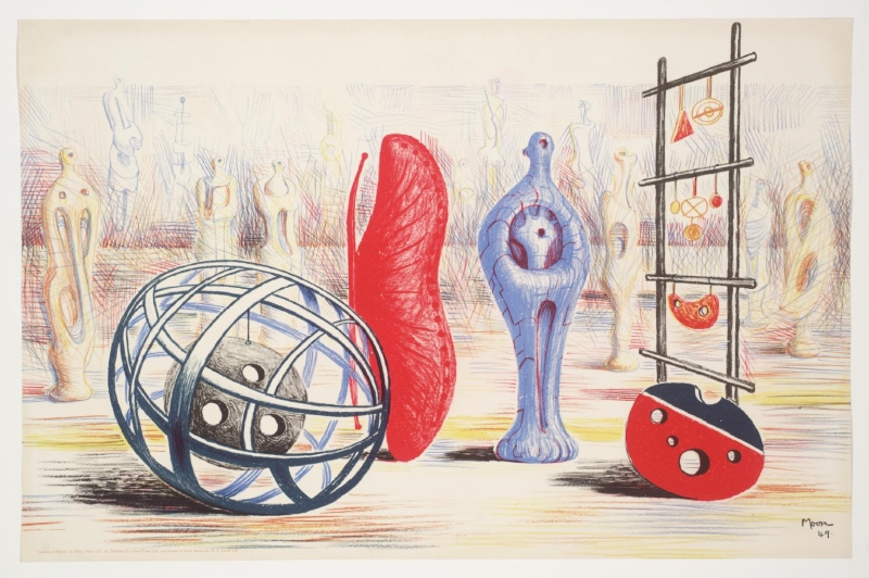 Sculptural Objects by Sir Henry Moore (1898 - 1986)
