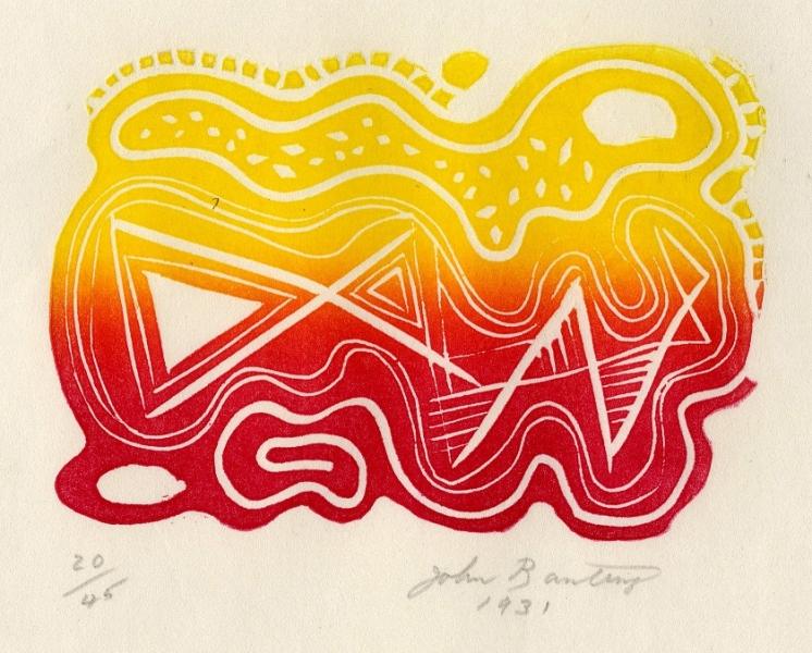 Snake in the Grass - Atlas by John Banting (1902 - 1972)