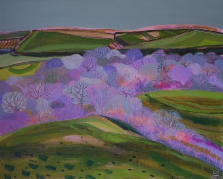 Valley Near Mudgeon, Cornawll by Kate Lowe