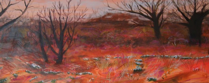 Snowdrop Thicket by Kate Lowe