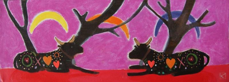 Tarifa Love Cows by Kate Lowe
