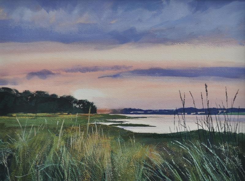 Sunset Stour Estuary