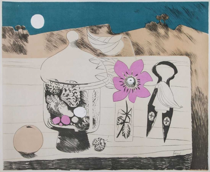 Pot of Shells by Mary Fedden OBE RA (1915 - 2012)
