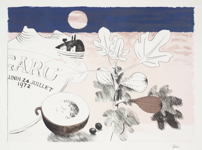 Figs by Mary Fedden OBE RA (1915 - 2012)