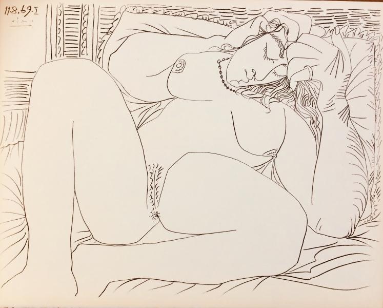 Femme Nue 11.8.69 no. I