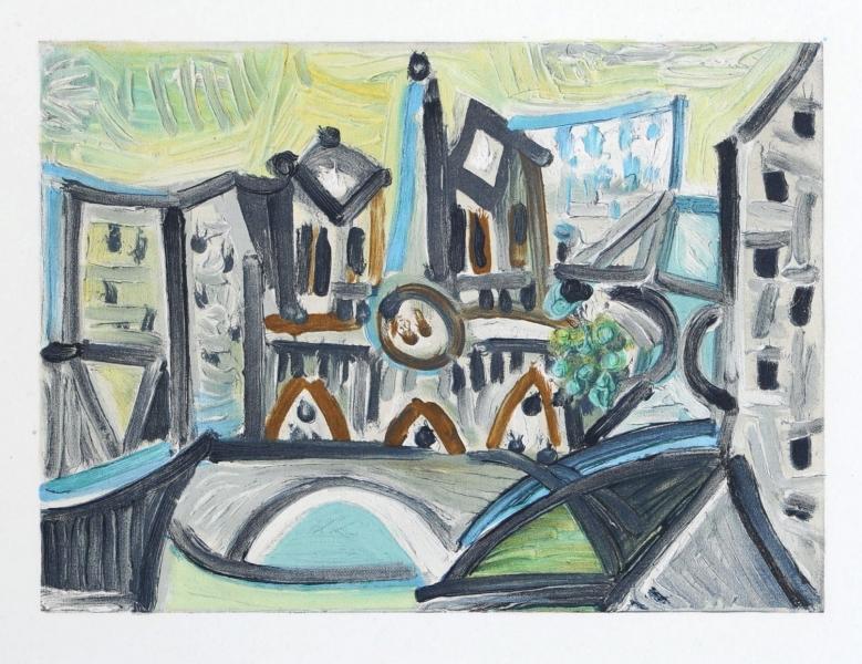 Notre Dame I-  Dans L'Ataleir de Picasso Suite