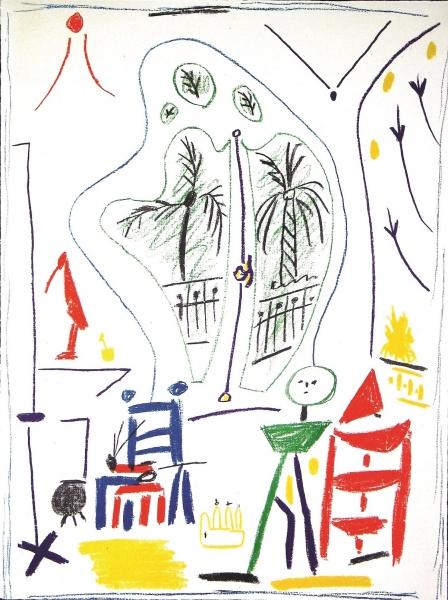 L'Atelier de Cannes 1 - suite,Dans L'Atelier de Picasso