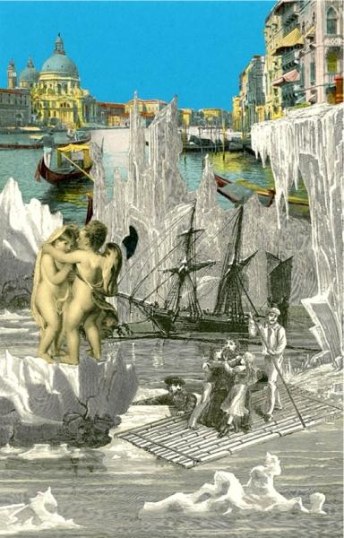 Venice Suite: Iceburg 1 by Sir Peter Blake OBE (1932)