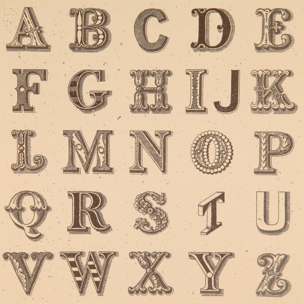 Appropriated Alphabet 1