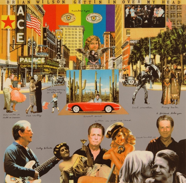 Gettin'in Over my Head - Beach Boys Album Cover