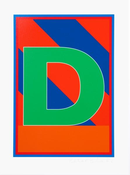 Dazzle Alphabet D