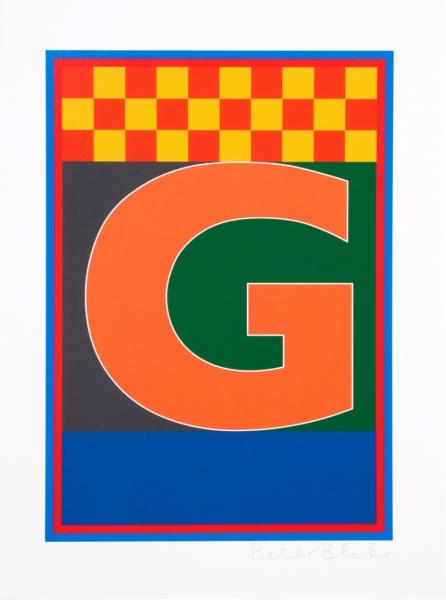 Dazzle Alphabet G