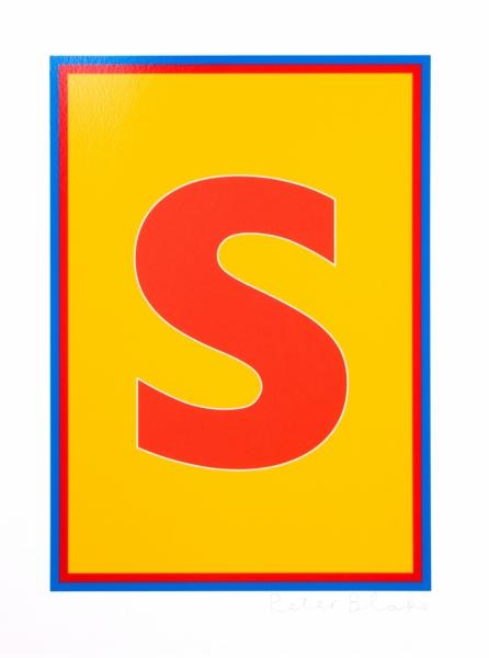Dazzle Alphabet S