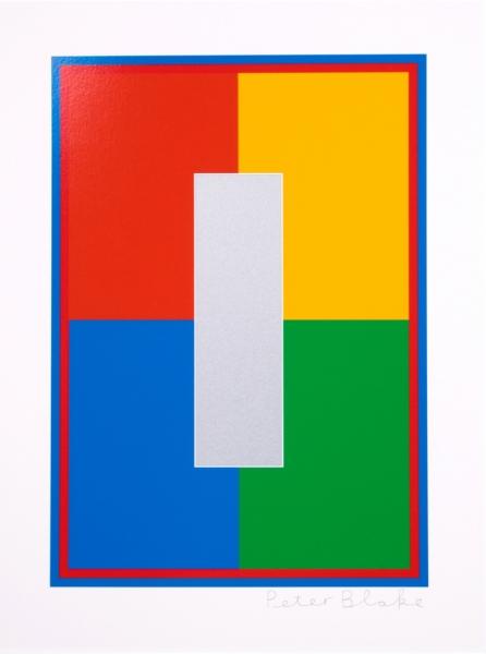 Dazzle Alphabet I