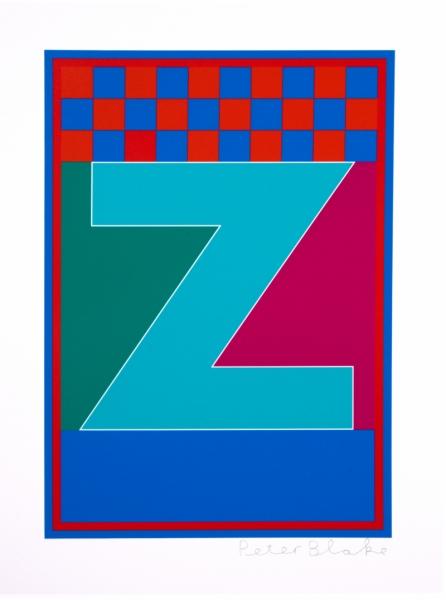 Dazzle Alphabet Z
