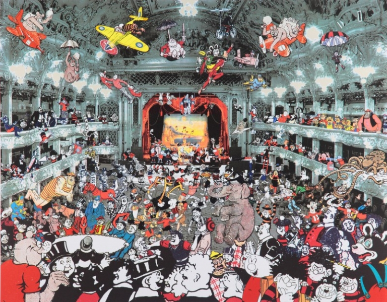 Marcel Duchamp DC Thompson Reunion at the Tower Ballroom, Blackpool