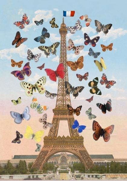 Eiffel Tower (Lenticular)