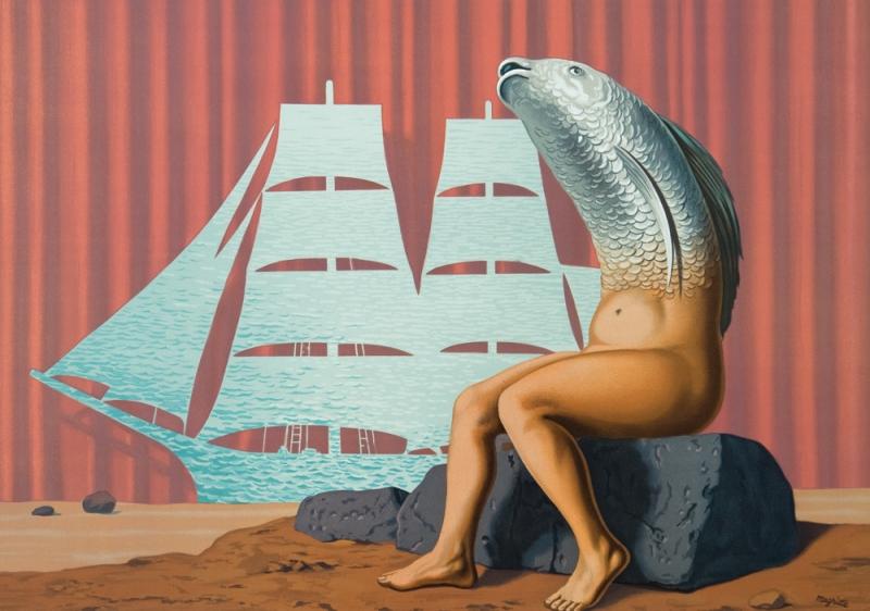 Un Seduisant Navire d'eau de Mere